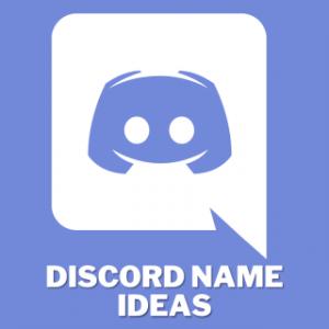Discord Name ideas