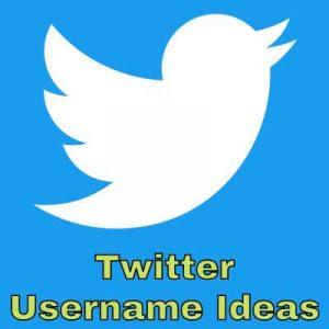 Twitter Username Ideas